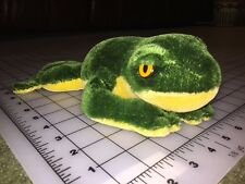 "Vintage Steiff Frog Toad Stuffed Animal Plush Figure 10"" Long"
