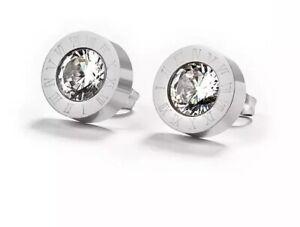 Ohrringe-Ohrstecker-Roemische-Ziffern-Zahlen-Bulgarien-Luxus-Silber-Swarovski