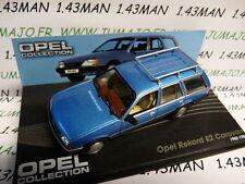 coche 1/43 IXO eagle moss OPEL colección : REKORD E2 Caravana break 1982/1982