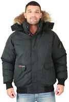 Canada Weather Gear Men's Faux Goose Down Bomber Jacket Coat Size 3xl