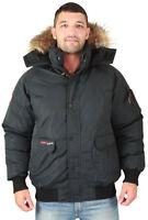 Canada Weather Gear Men's Faux Goose Down Bomber Jacket Coat Size 3xl on sale