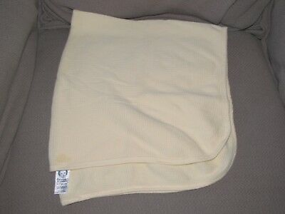 NEW Cotton Waffle Weave Thermal Receiving Baby Blankets Crib Critters USA 30x40