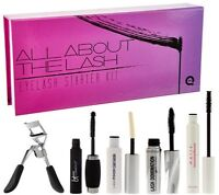 In Box All About The Lash Eyelash Starter Kit 3 Mascaras, Primer,curler Qvc