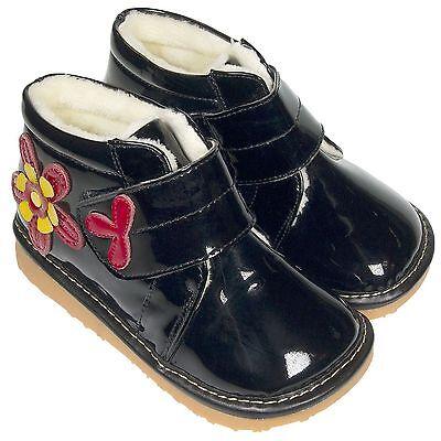 Girl/'s Children/'s Freycoo Ankle Boots Toddler Raspberry Patent Fleece Inner