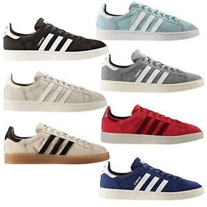Caricamento dell'immagine in corso Adidas-Originals-Campus-Sneaker-da-Uomo- Scarpe-da-