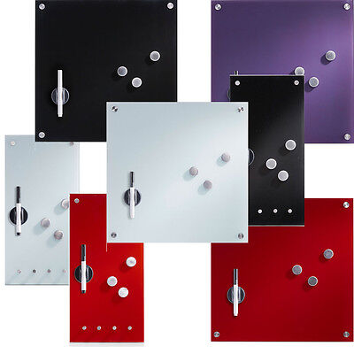 GLASMAGNETTAFEL MAGNETTAFEL PINWAND PINNWAND Memoboard magnetisch