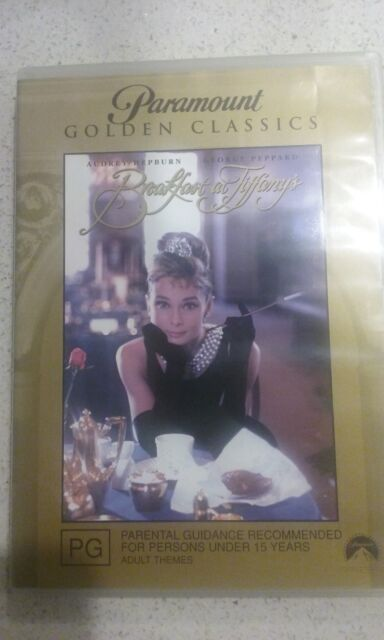 Breakfast At Tiffany's - Paramount Golden Classic DVD - Free Postage