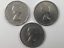 1962-1963-1964-Canada-Five-Cents-Lot-of-3-Canadian-Nickels thumbnail 2