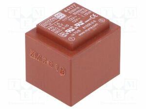 Transformador-Revestido-2-3VA-117VAC-12V-12V-96mA-96mA-44177-Pcb-Transformatore