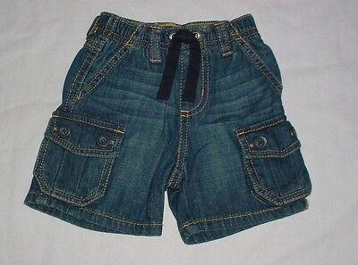 Nwt Gymboree Boys Construction Crew Blue Denim Jean Cargo Shorts 3-6 M Various Styles Baby & Toddler Clothing