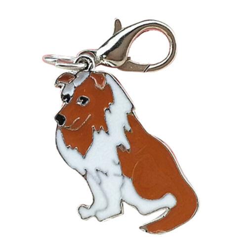 Schlüsselbund Hund Schmuck Armband etc Border Collie Anhänger für Kette