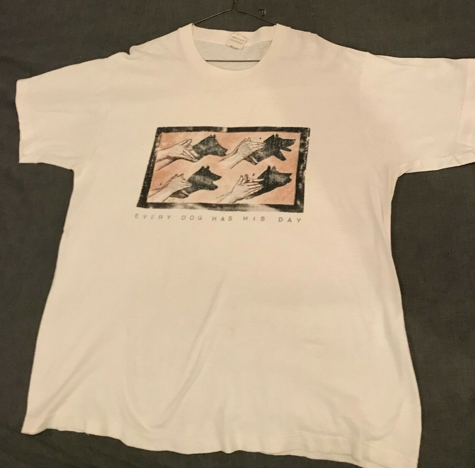 Let's Active shirt Every Dog Has His Day vintage t-shirt indie '80s Mitch Easter