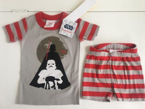 hanna andersson Boys Star Wars Pajamas 80-85 Nwt $44