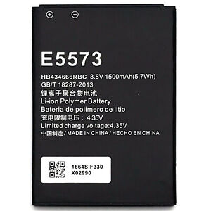Details about New 1500mAh Battery HB434666RBC For Huawei E5573s-852/853  E5573s-856 E5577C