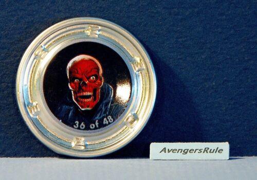 Marvel Hubsnaps #36 Red Skull Rare