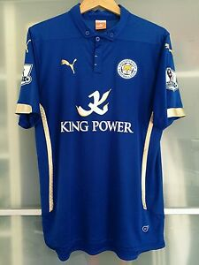 0ff6821ae Official Puma Leicester City 2014 15 Home Shirt Large Mens Champions ...