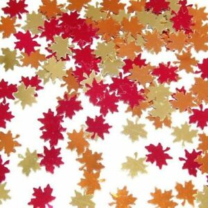 Autumn Leaf Confetti Fall Autumn Thanksgiving Party Decoration 34689906308 Ebay
