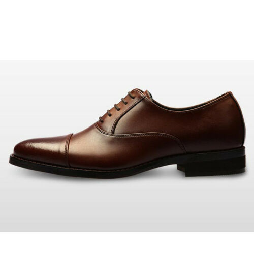 Shoe Polish GADAE Mens Genuine Leather Oxfords Derby Classic Dress Shoes 223