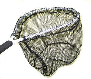 Aluminum-Landing-Net-Hoop-11-034-x-15-034-Handle-7-034
