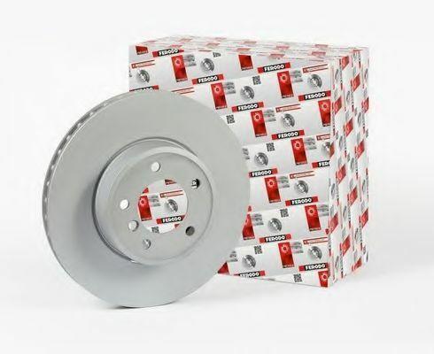 Ferodo DDF001 Disque de frein Set Solid Essieu avant remplace 90065903