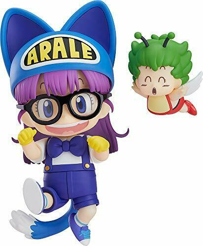 Nendoroid 1009 Dr.SLUMP ARALE CHAN Arale Norimaki  Cat Ears Ver. & Gatchan NEW