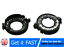 2x Xenon For Audi BMW D1S D1R D1C D3S HID Headlight Bulb Clip Rings Holder