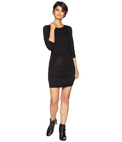 New Woherren Small YFB Young Fabulous & Broke Acacia schwarz Ruched Sexy Mini Dress