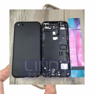 Rear-Housing-Battery-Door-iPhone-SE-5S-Back-Replace-to-7-mini-Housing-Assembly