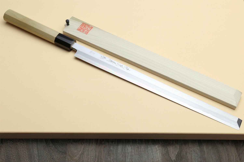 Hongasumi Hongasumi Hongasumi Takobiki 33cm  Blau Steel  Japanese sushi chef knife YOSHIHIRO c2fb1f