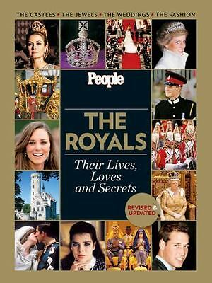 THE ROYALS THEIR LIVES LOVES  SECRETS FULL COLOR HARDCOVER FREE USA SHIP HARD