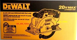 NEW-IN-RETAIL-BOX-Dewalt-DCS391B-20V-Cordless-Battery-Circular-Saw-20-volt