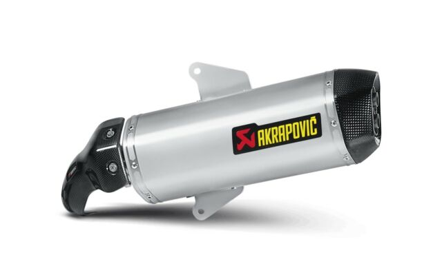 S-A8SO2-HWSS - Silenciador Akrapovic Bolt-on inox carbonio Aprilia SRV 850