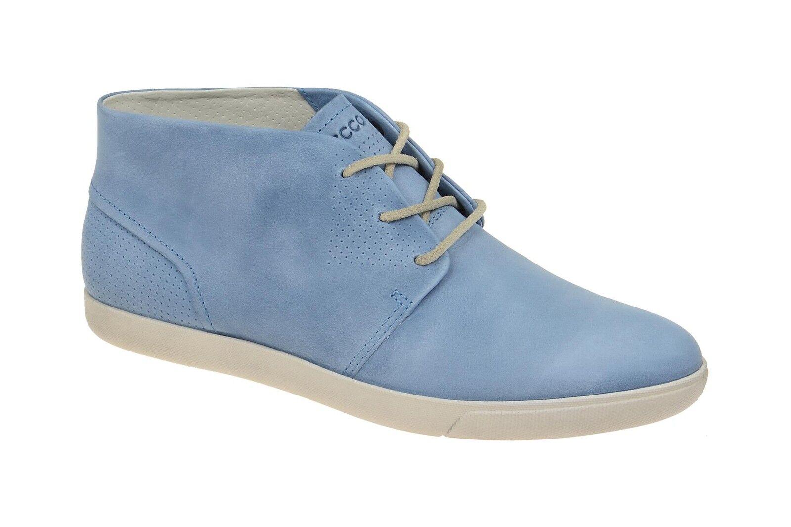 Ecco Chaussures Damara BLEU Chaussures Femmes Confortable A Lacets-Chaussures basses basses basses 24531302471 NEUF 10aa97