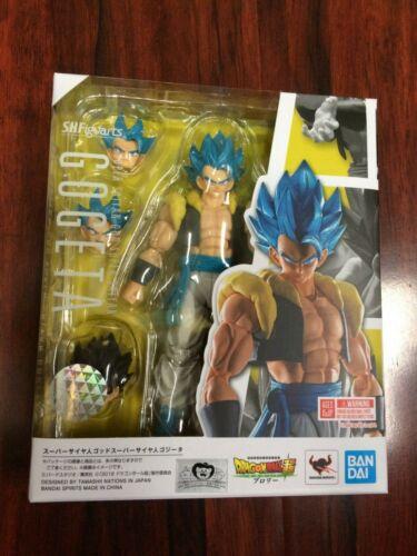 AUTHENTIC S.H.Figuarts Super Saiyan God Gogeta Dragon Ball Broly Movie