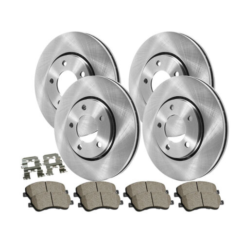 Centric Front/&Rear Brake Rotor Ceramic Pad 6PCS For 1987-1992 Toyota Supra