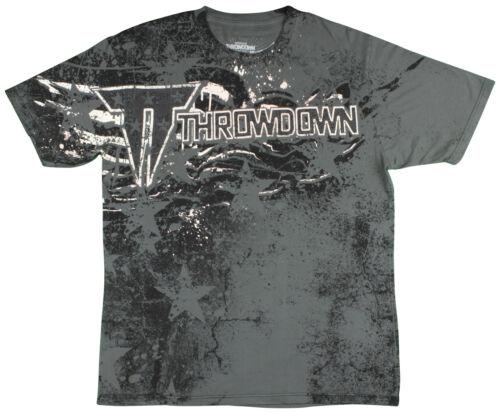 Charcoal Throwdown Mens Justice T-Shirt