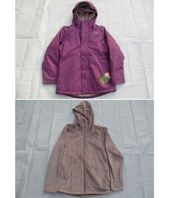 NWT The North Face New $150 Girls/' Near And Far Triclimate 3-in-1 Jacket Size M