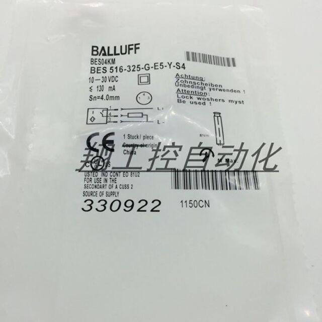 10-30vdc 130mA sn=4mm USED Balluff BES 516-325-G-E5-Y-S4 Sensor