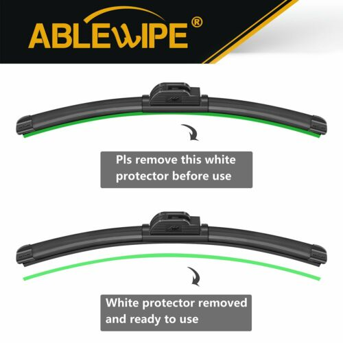 ABLEWIPE Fit For Chevrolet Chevy CORVETTE 2013-2005 Beam Windshield Wiper Blades