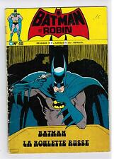 FRENCH COMIC FRANÇAIS EDITION INTERPRESSE  BATMAN  #  40   Y-B