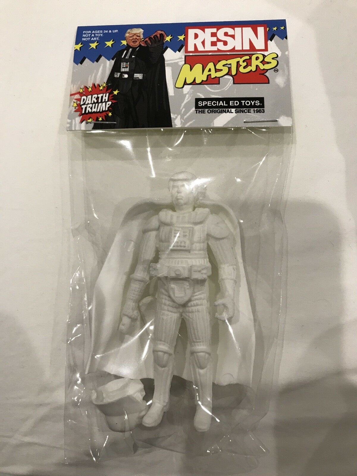 Darth Trump Resin Masters SDCC 2018 Special Ed Toys