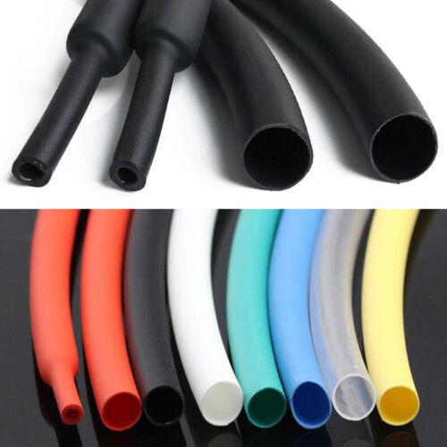 Φ1.6~65mm Black Heat Shrink 3:1 Shrinkable Heatshrink Tube Tubing Wire Sleeving