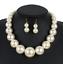 Fashion-Boho-Crystal-Pendant-Choker-Chain-Statement-Necklace-Earrings-Jewelry thumbnail 117