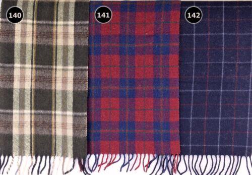 TARTAN SCARF Soft Touch Plaid Check Shawl Acrylic Wool Woollen Scotland 140-142
