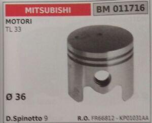 FR66812 KP01031AA PISTONE COMPLETO MOTORE MITSUBISHI TL 33 Ø 36
