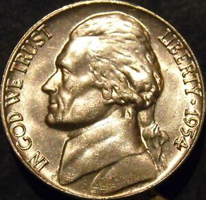 1952-P Jefferson Nickel Choice//Gem BU Uncirculated