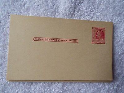 Ben Franklin 2 Cent Unused Postcard 1951 Ebay