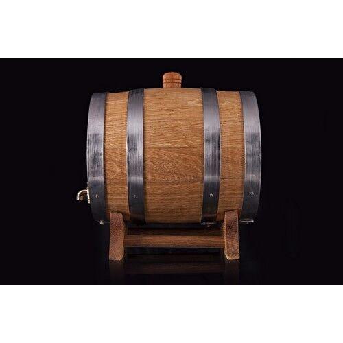 Weinfass Holzfass Whiskyfass Likörfass mit Hahn Schnapsfass mit Bock Holz 6L