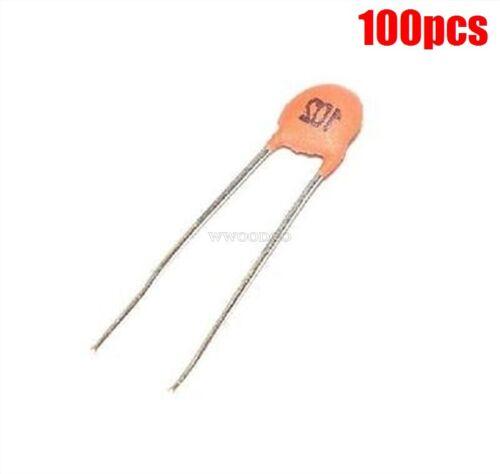 100Pcs 102Pf 1000Pf 1Nf 102Pf 50V 102 Dip Ceramic Disc Capacitor hw