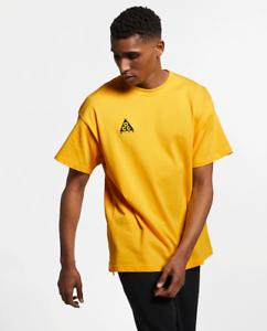 Nike ACG Logo Tee Yellow T-Shirt BQ7342